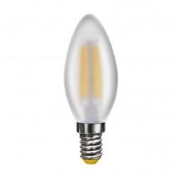 Лампа светодиодная филаментная Voltega E14 4W 2800К матовая VG10-C2E14warm4W-F 6999