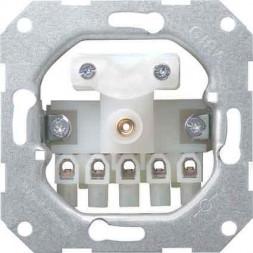 Ввод кабеля Gira System 55 с 5-полюсным клеммником 040000