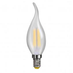 Лампа светодиодная филаментная E14 4W 2800К матовая VG10-CW2E14warm4W-F 7006