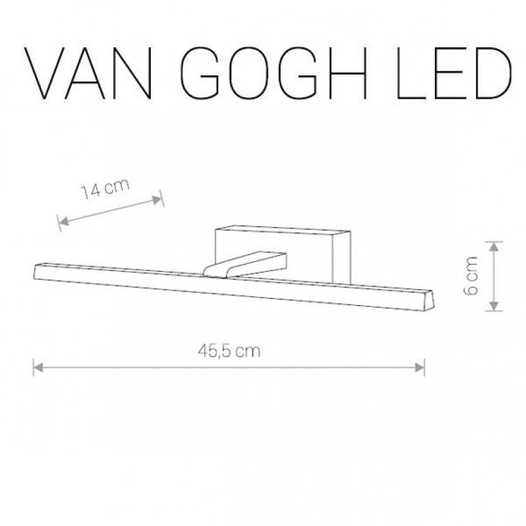 Подсветка для зеркал Nowodvorski Van Gogh Led 9351