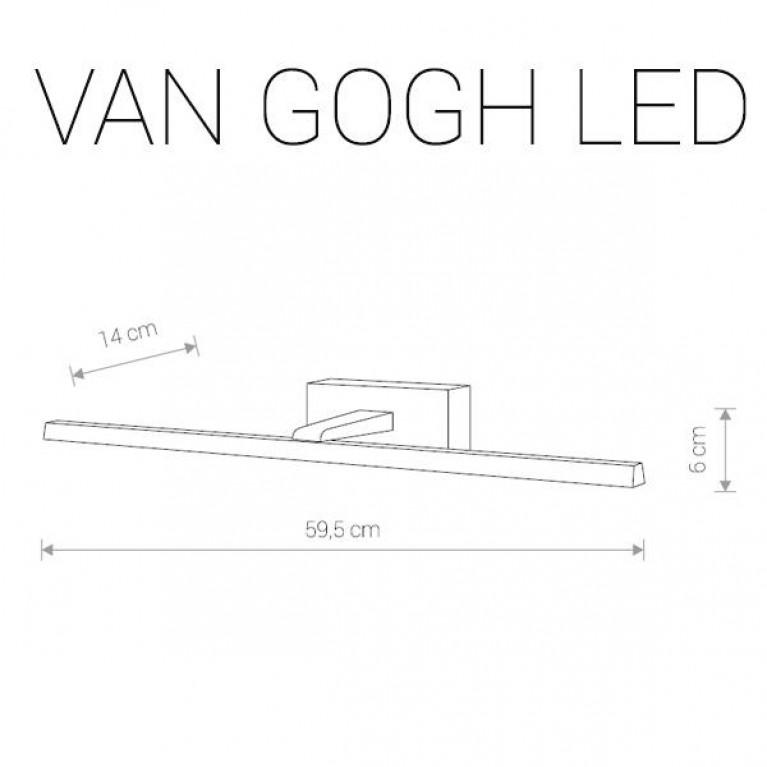 Подсветка для зеркал Nowodvorski Van Gogh Led 9352