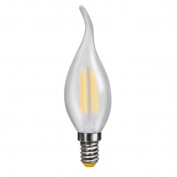 Лампа светодиодная филаментная E14 4W 4000К матовая VG10-CW2E14cold4W-F 7007