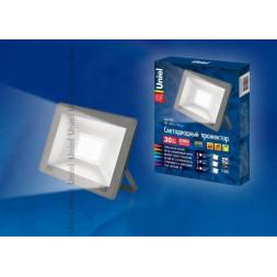 Прожектор светодиодный (UL-00001849) Uniel 30W 4000K ULF-F15-30W/NW IP65 185-240В Silver