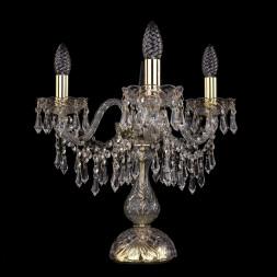 Настольная лампа Bohemia Ivele 1403L/3/141-39/G