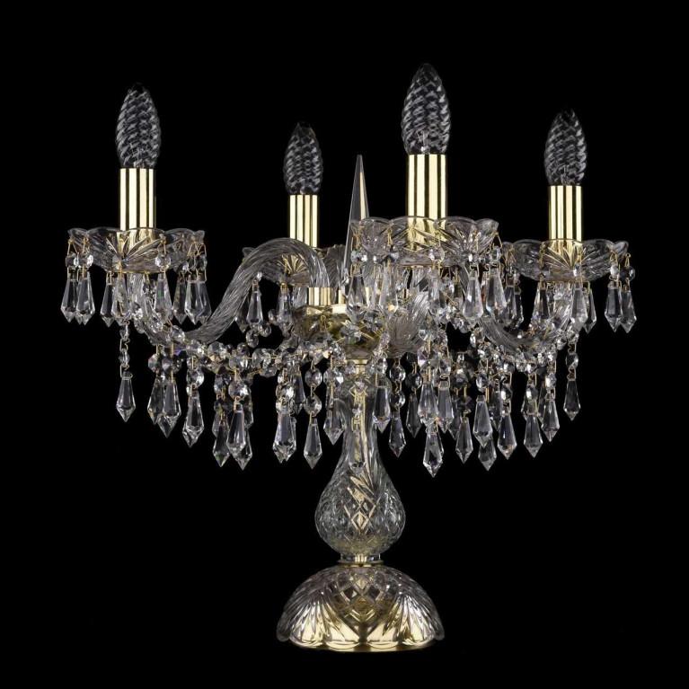 Настольная лампа Bohemia Ivele 1403L/4/141-39/G