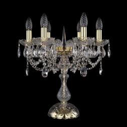 Настольная лампа Bohemia Ivele 1406L/6/141-47/G