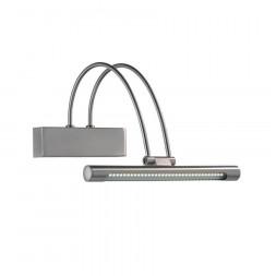 Подсветка для зеркал Ideal Lux Bow Ap D26 Nickel