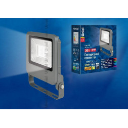 Прожектор светодиодный (UL-00002068) Uniel 30W 4000K ULF-F17-30W/NW