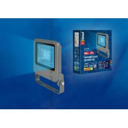 Прожектор светодиодный (UL-00002073) Uniel 10W ULF-F17-10W/BLUE