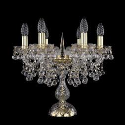 Настольная лампа Bohemia Ivele 1409L/6/141-39/G