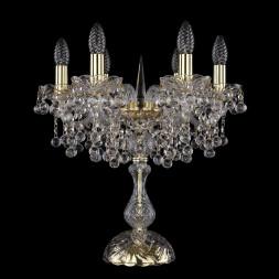 Настольная лампа Bohemia Ivele 1409L/6/141-47/G