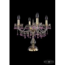 Настольная лампа Bohemia Ivele 1410L/4/141-39/G/V7010