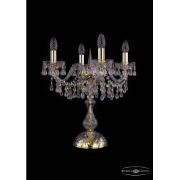 Настольная лампа Bohemia Ivele 1410L/4/141-47/G/V0300