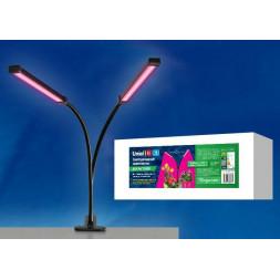 Светильник для растений, на прищепке (UL-00003409) Uniel ULT-P33-16W/SPSB IP40 BLACK
