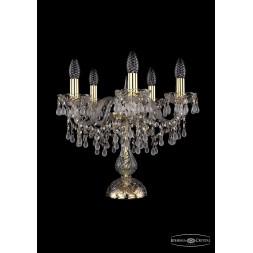 Настольная лампа Bohemia Ivele 1410L/5/141-39/G/V0300