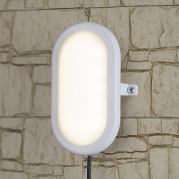 Пылевлагозащищенный светильник Elektrostandard LTB0102D LED 22 см 12W белый 4690389099113