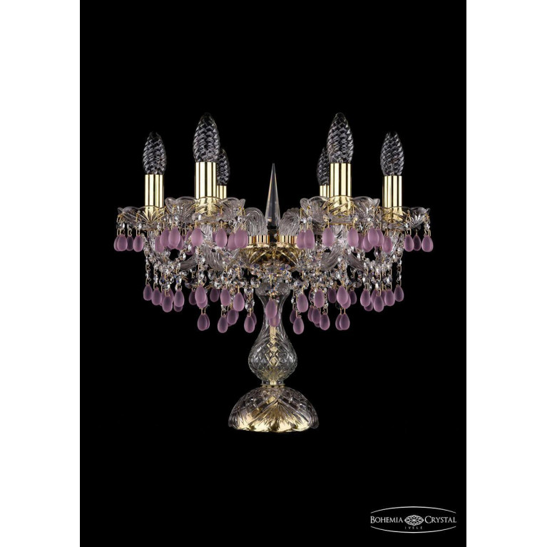 Настольная лампа Bohemia Ivele 1410L/6/141-39/G/V7010
