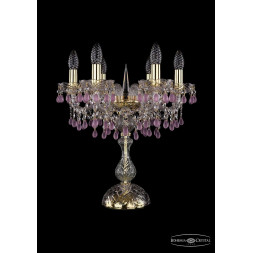 Настольная лампа Bohemia Ivele 1410L/6/141-47/G/V7010