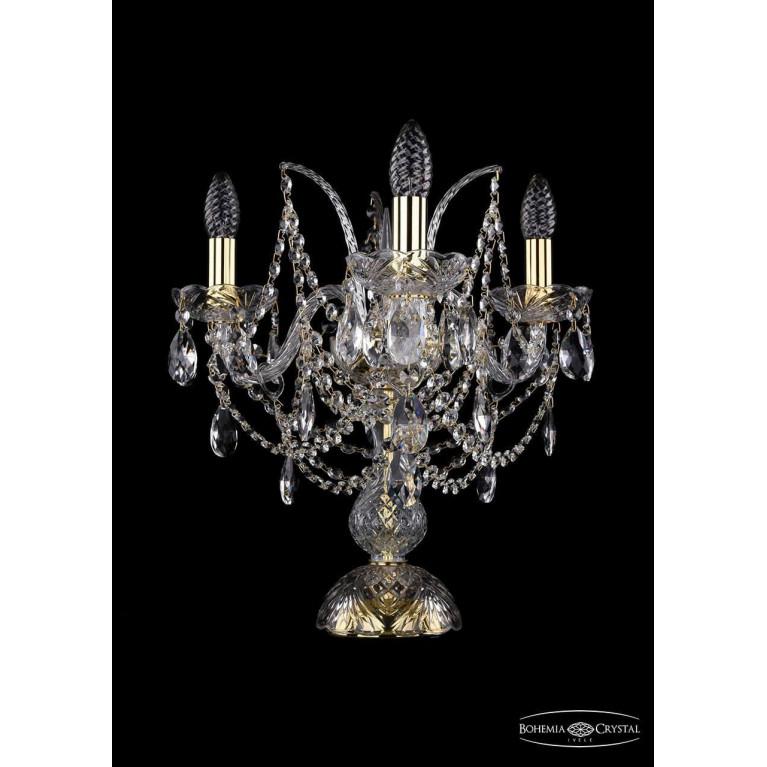 Настольная лампа Bohemia Ivele 1411L/3/141-39/G