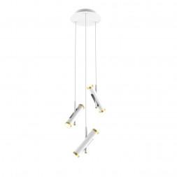 Подвесная светодиодная люстра Favourite Duplex 2323-6P