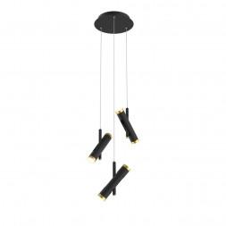 Подвесная светодиодная люстра Favourite Duplex 2324-6P