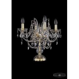 Настольная лампа Bohemia Ivele 1411L/4/141-39/G
