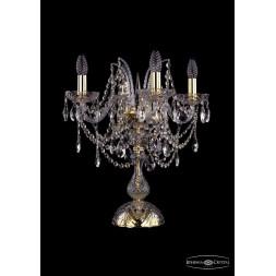 Настольная лампа Bohemia Ivele 1411L/4/141-47/G
