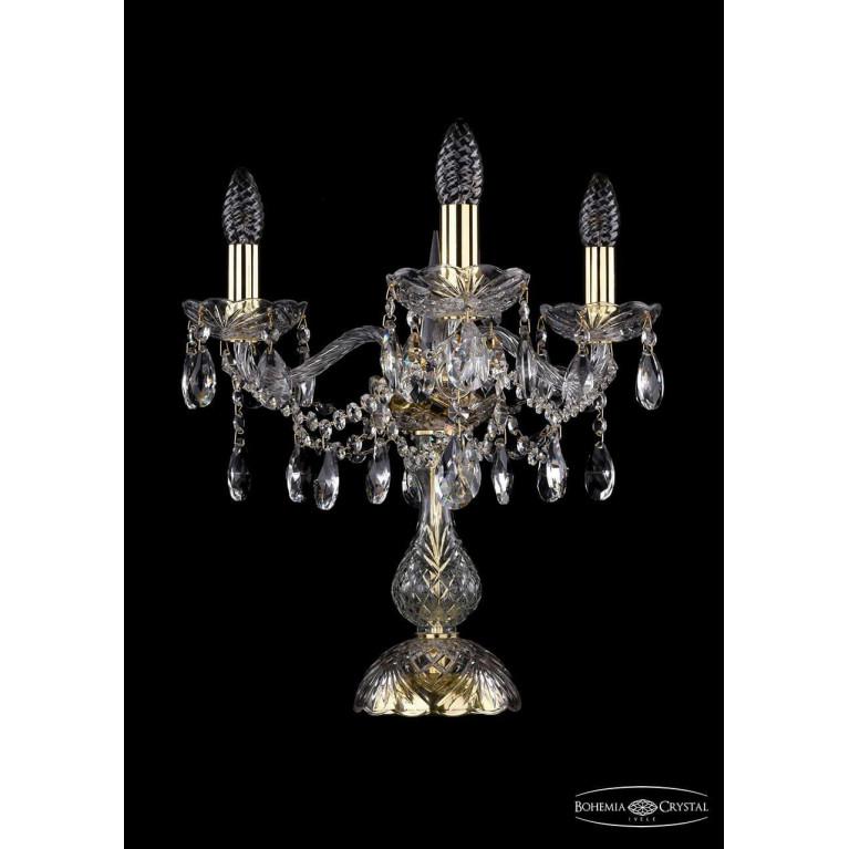 Настольная лампа Bohemia Ivele 1413L/3/141-39/G