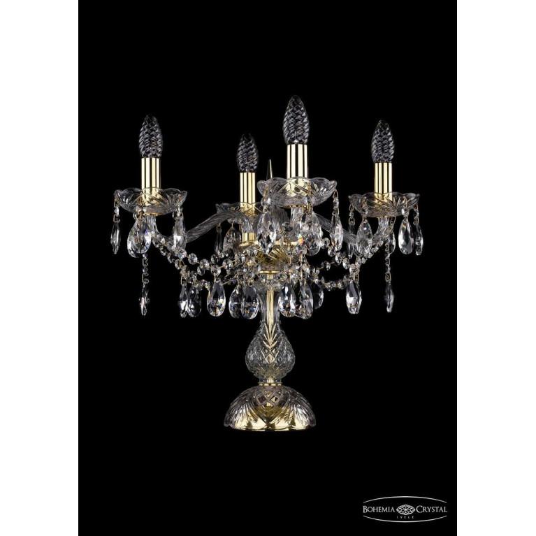 Настольная лампа Bohemia Ivele 1413L/4/141-39/G