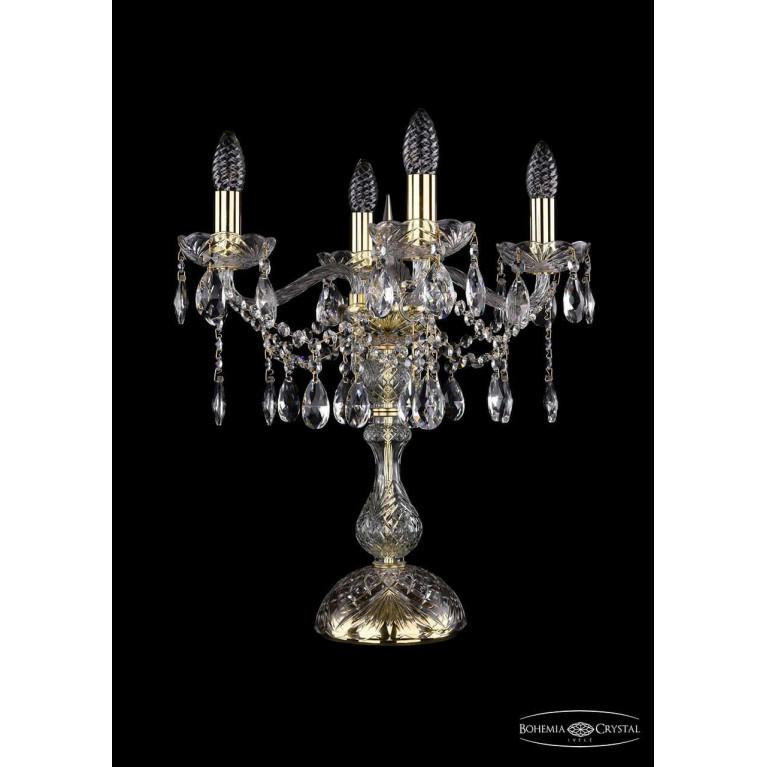 Настольная лампа Bohemia Ivele 1413L/4/141-47/G