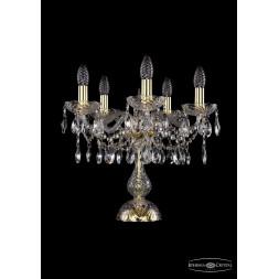 Настольная лампа Bohemia Ivele 1413L/5/141-39/G