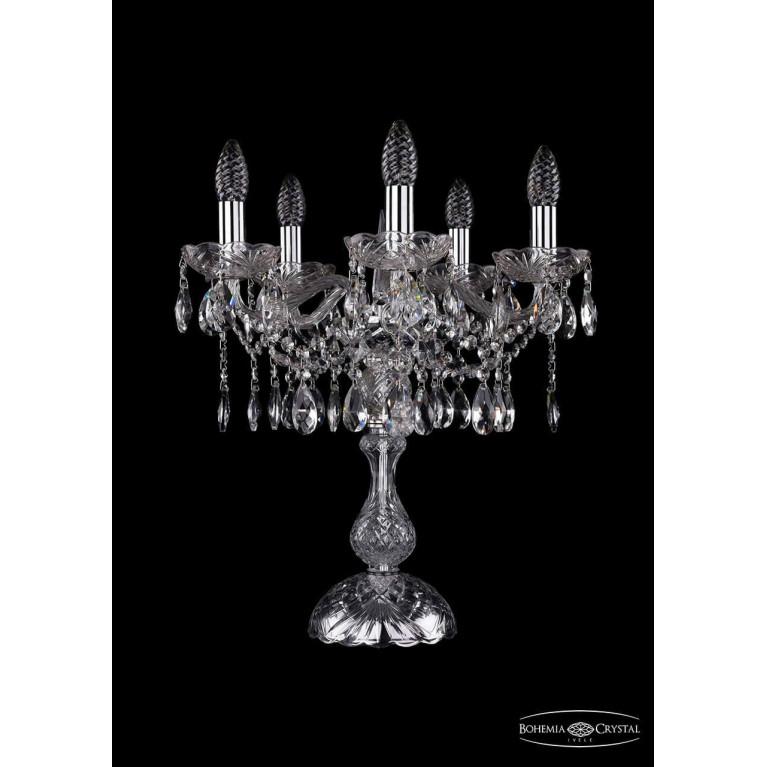 Настольная лампа Bohemia Ivele 1413L/5/141-47/Ni