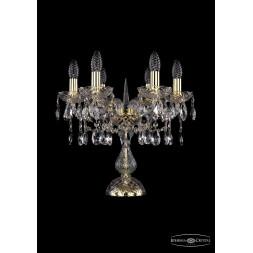 Настольная лампа Bohemia Ivele 1413L/6/141-39/G