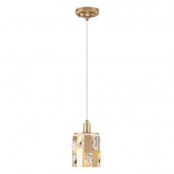 Подвесной светильник Eurosvet 50101/1 перламутровое золото