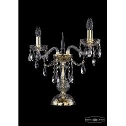 Настольная лампа Bohemia Ivele 1415L/2/141-39/G