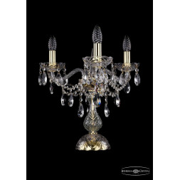 Настольная лампа Bohemia Ivele 1415L/3/141-39/G