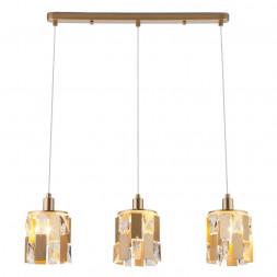 Подвесной светильник Eurosvet 50101/3 перламутровое золото