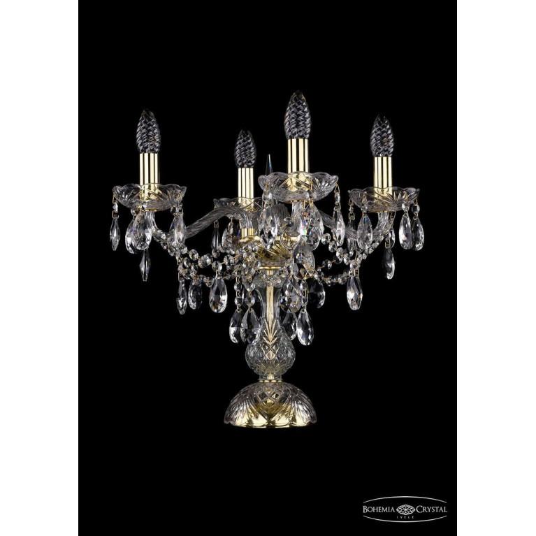 Настольная лампа Bohemia Ivele 1415L/4/141-39/G