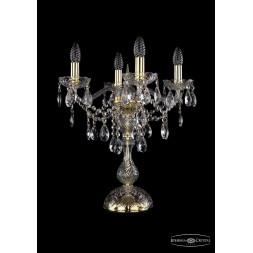 Настольная лампа Bohemia Ivele 1415L/4/141-47/G