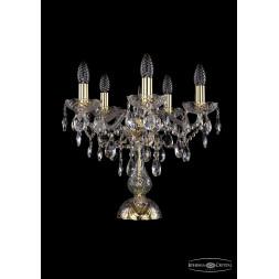 Настольная лампа Bohemia Ivele 1415L/5/141-39/G