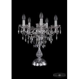 Настольная лампа Bohemia Ivele 1415L/5/141-47/Ni