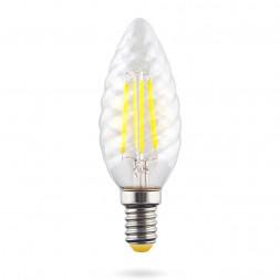 Лампа светодиодная E14 6W 2800К прозрачная VG10-CC1E14warm6W-F 7027