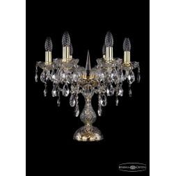 Настольная лампа Bohemia Ivele 1415L/6/141-39/G