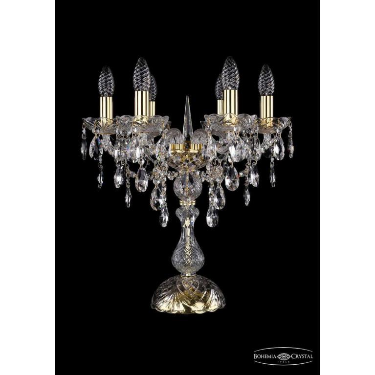Настольная лампа Bohemia Ivele 1415L/6/141-47/G