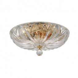 Потолочная люстра Crystal Lux DENIS D400 GOLD