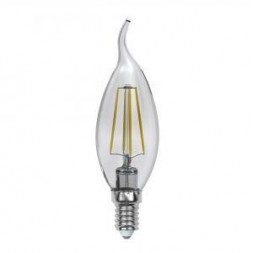 Лампа светодиодная (UL-00000200) E14 6W 3000K прозрачная LED-CW35-6W/WW/E14/CL PLS02W