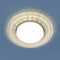 Встраиваемый светильник Elektrostandard 3028 GX53 CL прозрачный 4690389134036