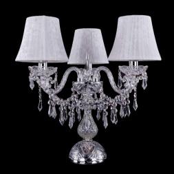 Настольная лампа Bohemia Ivele 1403L/3/141-39/Ni/SH41-160