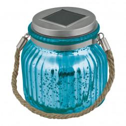 Светильник на солнечных батареях (UL-00003208) Uniel Modern USL-M-210/GN120 Blue Jar