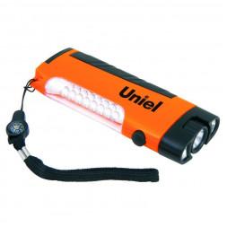 Кемпинговый светодиодный фонарь Uniel (08346) от батареек 122х50 15 лм S-TL018-С Orange